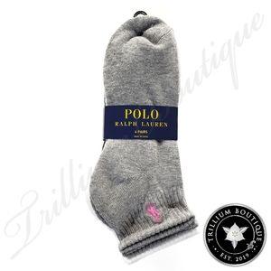 Polo Ralph Lauren Women's Socks 6 Pairs NWT